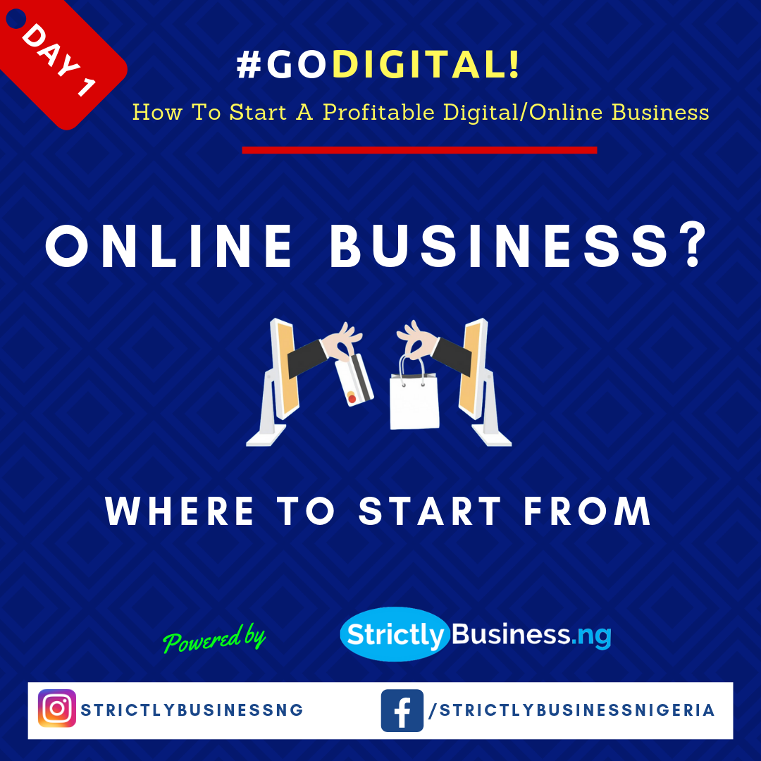 Online Business In Nigeria? Where To Start From