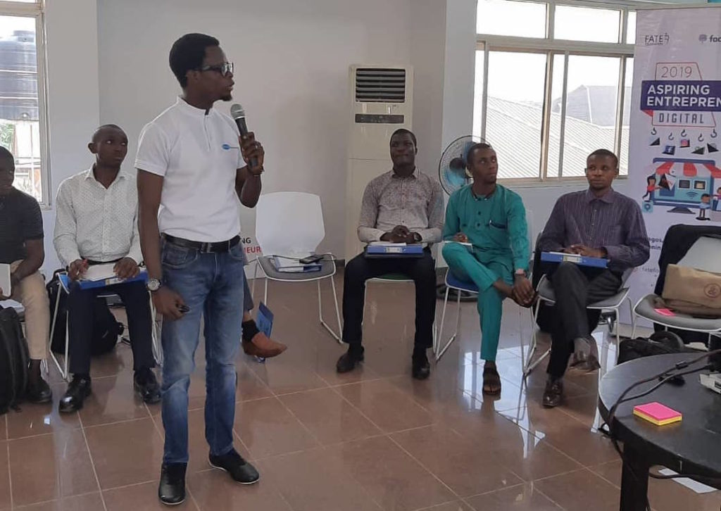 Fate foundation entrepreneurship training by Plan B