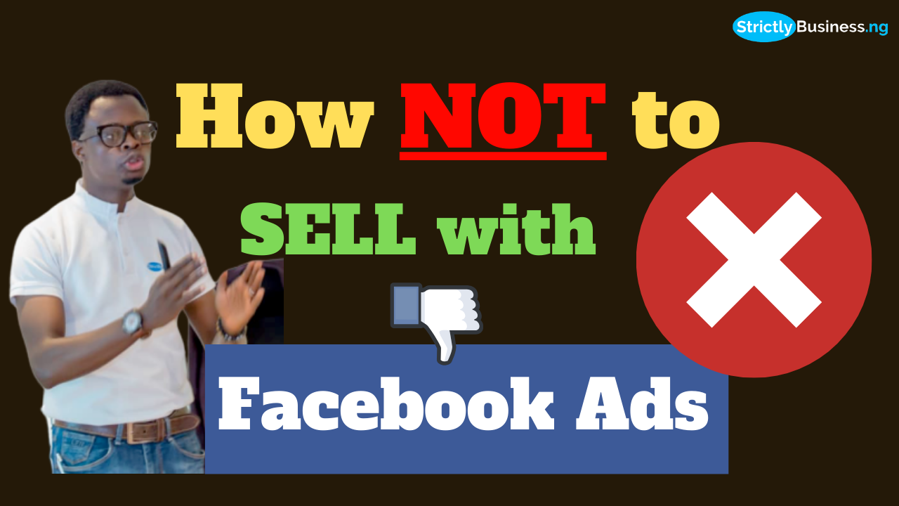 How Not To Sell With Facebook Ads
